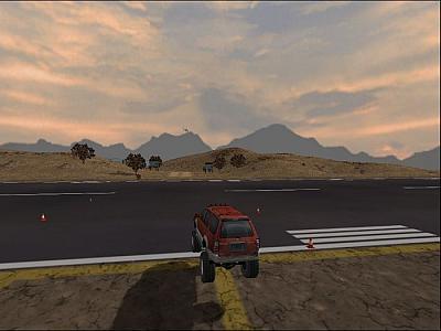 Screen ze hry 4x4 EVO
