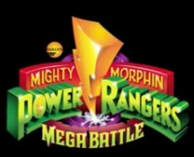 Artwork ke hře Mighty Morphin Power Rangers: Mega Battle
