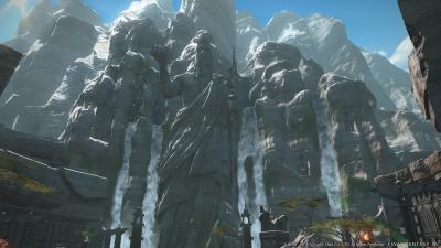 Screen ze hry Final Fantasy XIV: Stormblood