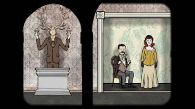Screen ze hry Rusty Lake: Roots