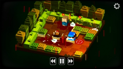 Screen ze hry Slayaway Camp