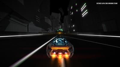 Screen ze hry Distance