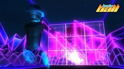 Screen ze hry HoloBall