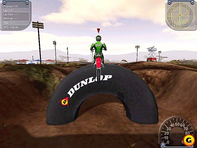 Screen ze hry Motocross Madness 2