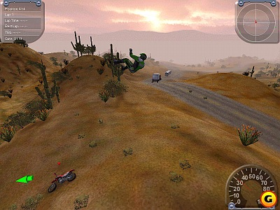 Screen Motocross Madness 2