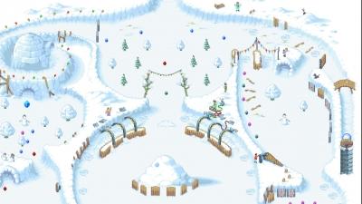 Screen ze hry Snowball!