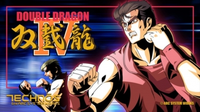 Artwork ke hře Double Dragon IV