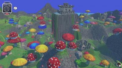Screen ze hry LEGO Worlds