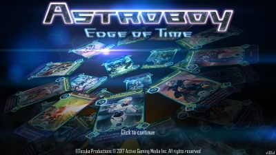 Screen ze hry Astro Boy: Edge of Time
