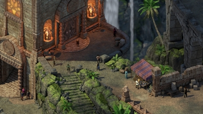Screen ze hry Pillars of Eternity II: Deadfire