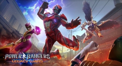 Artwork ke hře Power Rangers: Legacy Wars