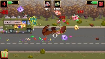 Screen ze hry Gunman Taco Truck