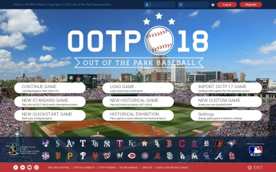Screen ze hry Out of the Park Baseball 18