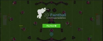 Artwork ke hře 2D Paintball