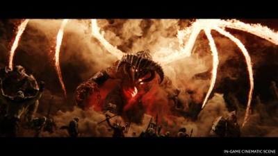 Artwork ke hře Middle-earth: Shadow of War