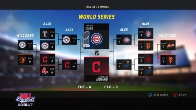 Screen ze hry R.B.I. Baseball 2017