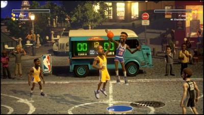 Screen ze hry NBA Playgrounds