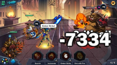 Screen ze hry Age of Heroes: Conquest