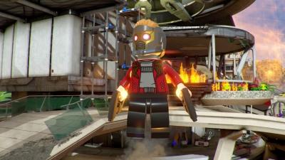 Artwork ke hře Lego Marvel Super Heroes 2