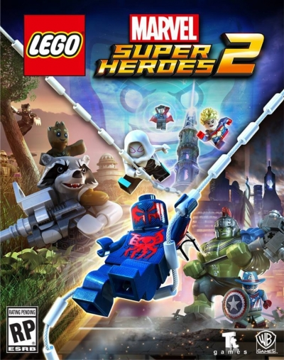 Artwork ke hře Lego Marvel Super Heroes 2