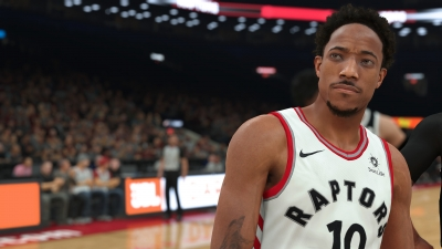 Screen ze hry NBA 2K18