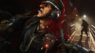 Artwork ke hře Wolfenstein II: The New Colossus