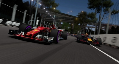Screen ze hry F1 2017