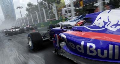 Screen ze hry F1 2017