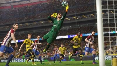 Screen ze hry Pro Evolution Soccer 2018