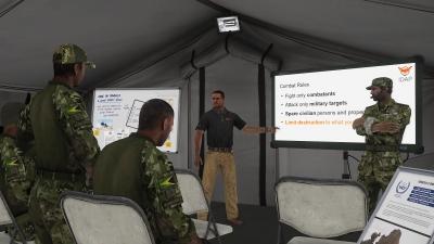 Screen ze hry Arma 3 Laws of War