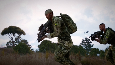 Screen ze hry Arma 3 Laws of War