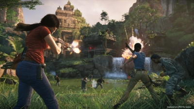 Artwork ke hře Uncharted: The Lost Legacy