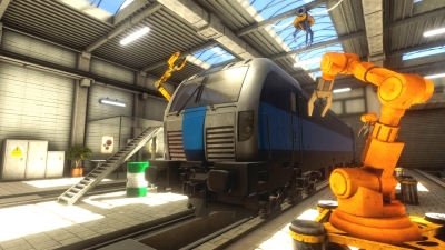 Screen ze hry Train Mechanic Simulator 2017