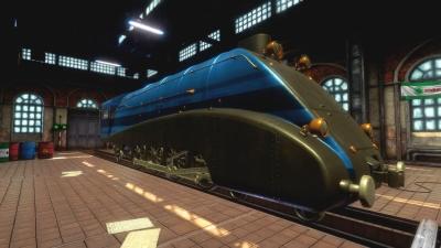 Screen ze hry Train Mechanic Simulator 2017