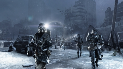 Screen ze hry Metro 2033 Redux