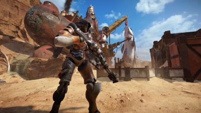 Screen ze hry Raiders of the Broken Planet