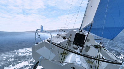 Screen ze hry Sailaway - The Sailing Simulator