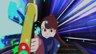 Screen ze hry Little Witch Academia: Chamber of Time