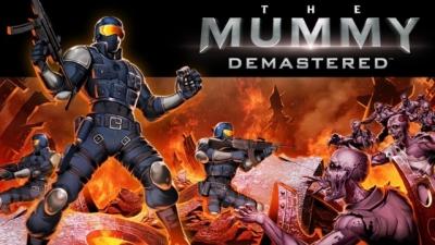 Artwork ke hře The Mummy Demastered