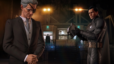 Artwork ke hře Batman: The Enemy Within - The Telltale Series
