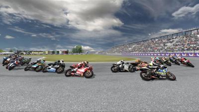 Screen ze hry Moto GP 08