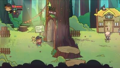 Screen ze hry The Adventure Pals