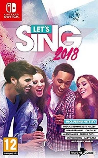 Artwork ke hře Let´s Sing 2018