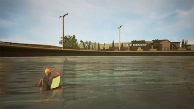 Screen ze hry Surf World Series