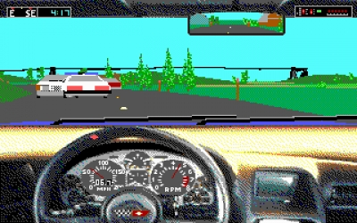 Screen ze hry Test Drive III: The Passion