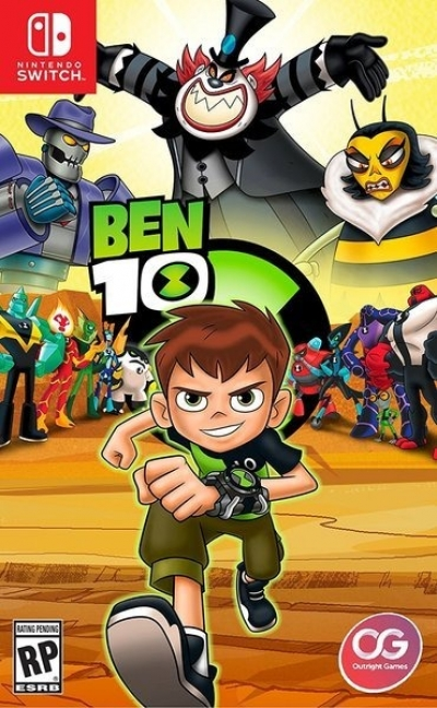 Artwork ke hře Ben 10