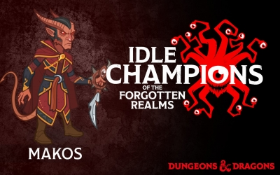 Screen ze hry Idle Champions of the Forgotten Realms