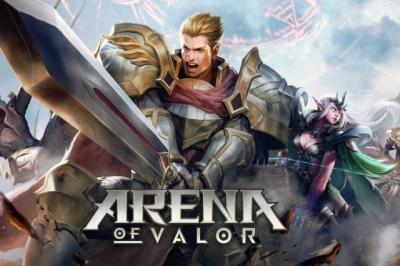 Artwork ke hře Arena of Valor