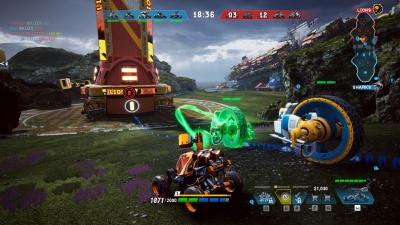 Screen ze hry Switchblade