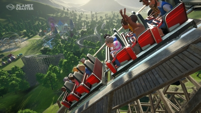 Screen ze hry Planet Coaster